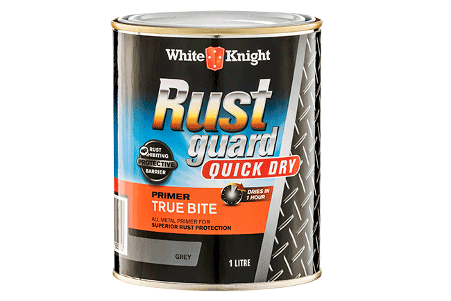 White Knight Rust Guard® Quick Dry True Bite Primer