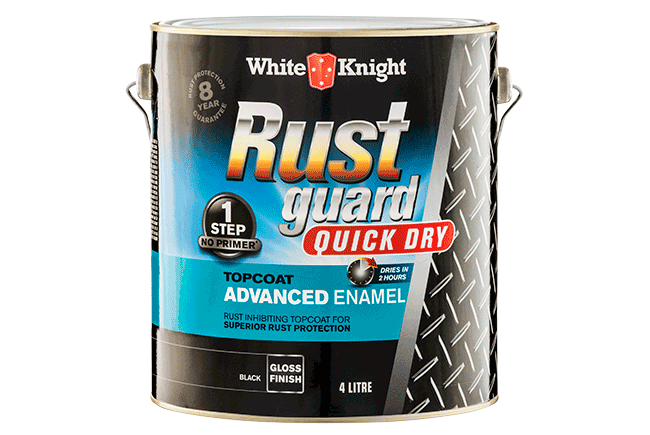 White Knight Rust Guard® Quick Dry Advanced Enamel