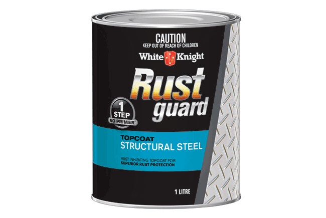 White Knight Rust Guard® Structural  Steel