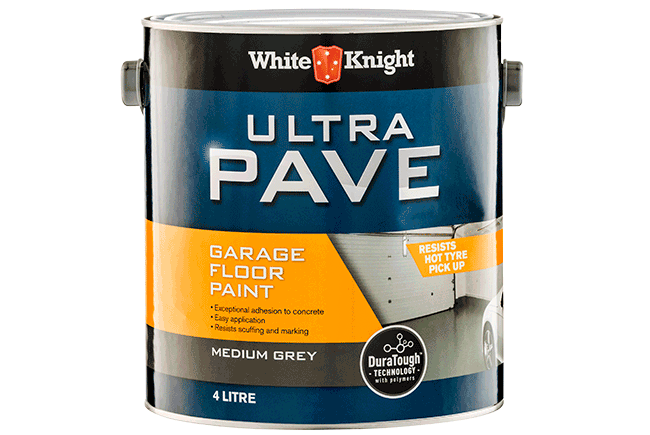 White Knight Ultra Pave® Garage Floor Paint