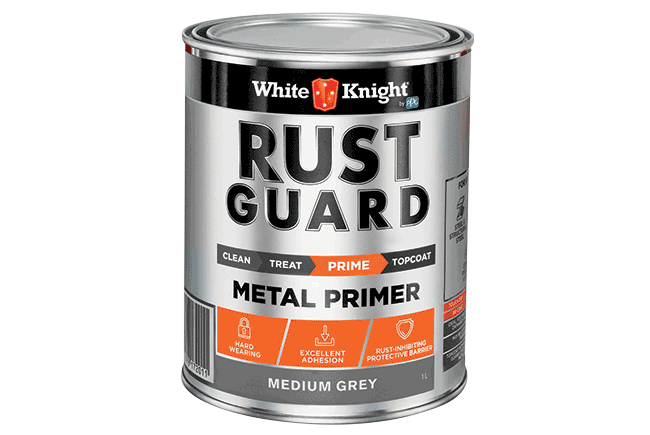 White Knight Rust Guard® Metal Primer