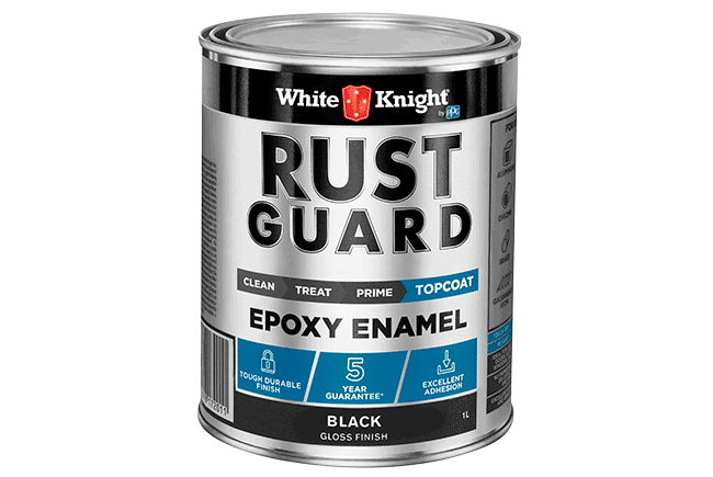 White Knight Rust Guard® Epoxy Enamel