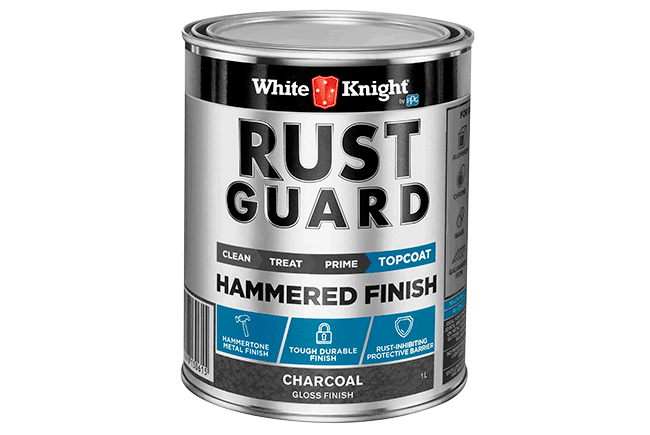 White Knight Rust Guard® Hammered Finish