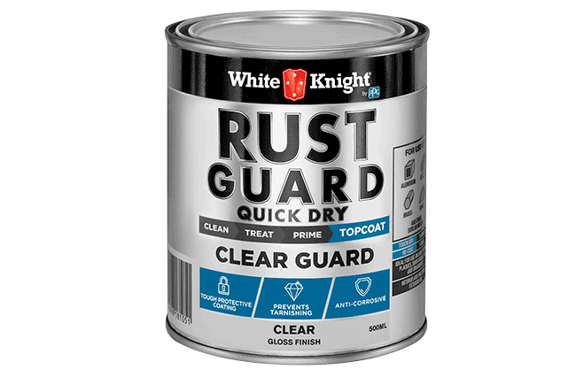 White Knight Rust Guard® Clear Guard