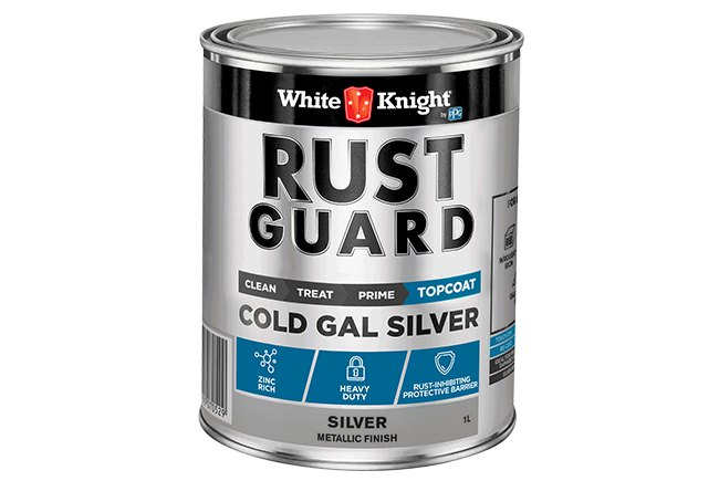 White Knight Rust Guard® Cold Gal Silver